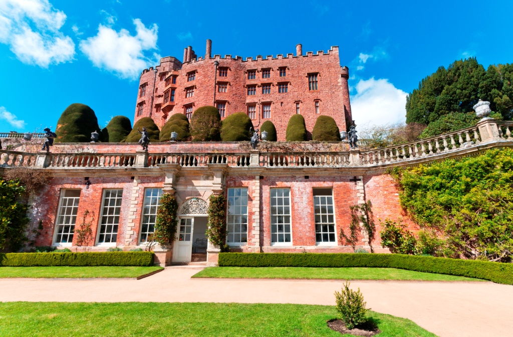 Powis Castle taken by Stephen Andrews